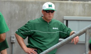 Marshall Unoversity Head Baseball Coach Jeff Waggner