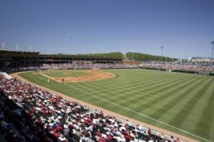 Baum Stadium- Courtesy of Wesley Hitt-Arkansas