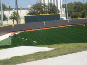 Field Turf at Disch Falk Field- Photo Courtesy of Donald J Boyles