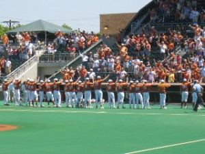 The University of Texas- Baseball Team- Picture Provided by Donald J Boyles