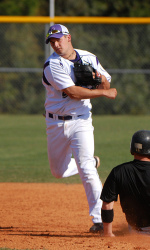 Ryan Priest scored a run and tossed an inning in SFA's fall game versus Grambling on Tuesday.