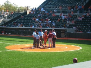 Augie Garrido and Ty Harrington- Photo provided by Donald J Boyles