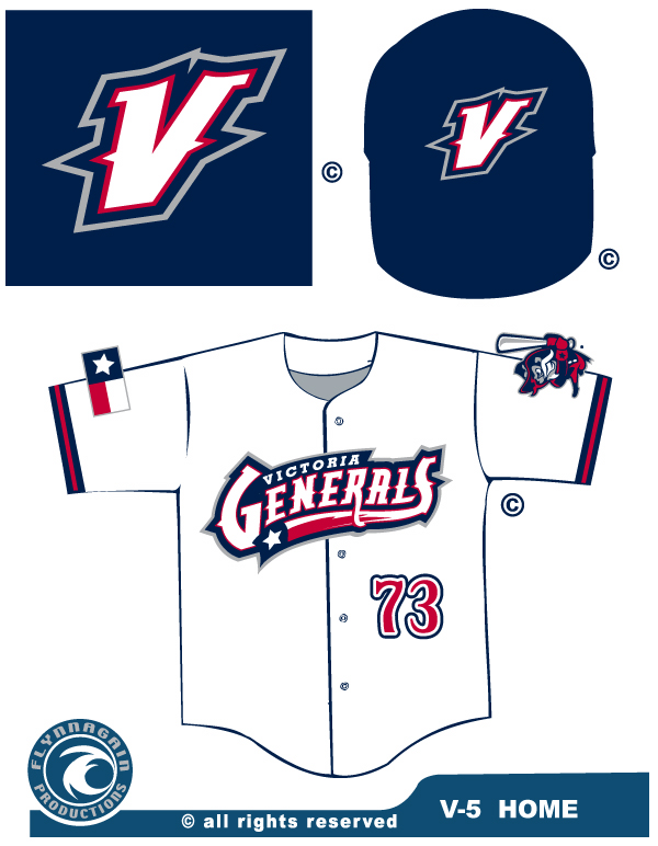 The Gernerals Home Jersey.