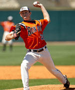 Sophomore Matt Crocker picked up a pair of wins out of UTSA's bullpen last week.