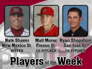WAC Players of the Week