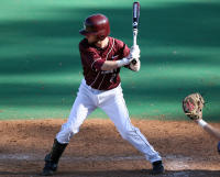 Kody Kroll had two RBI in the Trojans 5-4 game one win over HBU Saturday.-Courtesy: Nelson Chenault