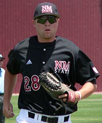 NM State Pitcher D.J. Simon